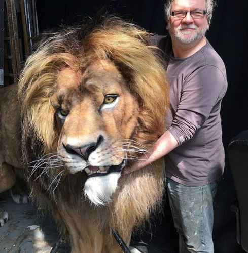 Animatronic Lion