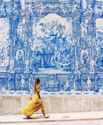 Wall Mural in Porto, Portugal
